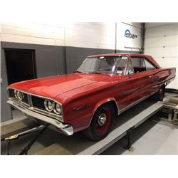 3:30PM SATURDAY FEATURE REAL DEAL HEMI! 1966 DODGE CORONET 500 426 CID V8 RED ON RED HEMI MATCHING N
