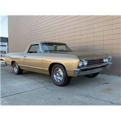 1967 CHEVROLET EL CAMINO FACTORY AC 327 NUT AND BOLT RESTORATION