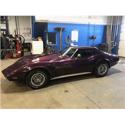 1973 CHEVROLET CORVETTE CUSTOM FUELIE RAM JET