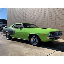 1972 PLYMOUTH CUDA 340