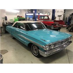 1964 FORD GALAXIE 500 XL TWO DOOR HARDTOP