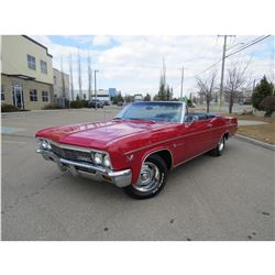1966 CHEVROLET IMPALA CONVERTIBLE 4 SPEED 396 BIG BLOCK
