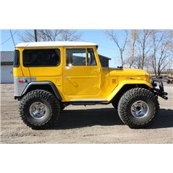 1973 TOYOTA LAND CRUISER CUSTOM 4X4