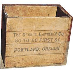 folding wooden box
