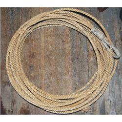 60 foot manila rope