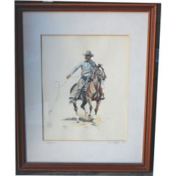 signed Paul Sollosy litho