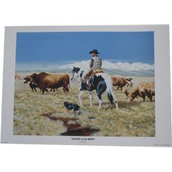 Dyrk Godby, Sisters, OR, signed and numbered print