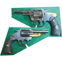 Colt New Police flat top target .32, Wells Fargo & Co, #153