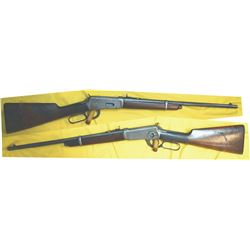 Winchester 1894 25.35 SRC button magazine, rare gun #594419, mfg 1911