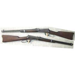 Winchester 1894 carbine 25.35 with buckeye sight, #341054, good bore, mfg 1906