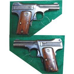 S & W 1913 .35 auto pistol, #6298
