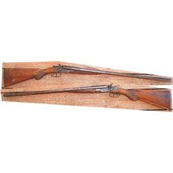 Ed Parker 16ga English made 1800's long barrel shotgun