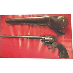 ".22 pistol 10 1/2"" barrel #87180 w/Slim Jim holster"