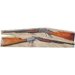 Stevens slide action .22 rifle #830