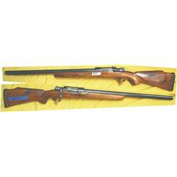 Mouser custom 8mm target heavy barrel rifle, #3667
