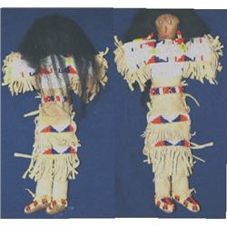 Indian beaded doll