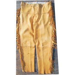 2 pairs of deer skin pants, like new