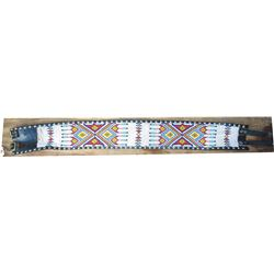 """beaded belt 33"""" x 4"""" wide"""