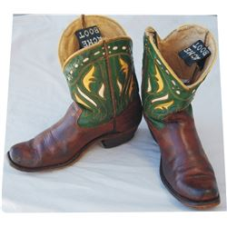 Acme kids inlaid boots