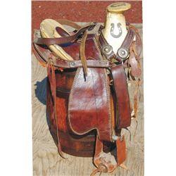 kids size Charro saddle, good quality