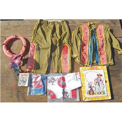 kid's group - two piece outfit, rope spurs
