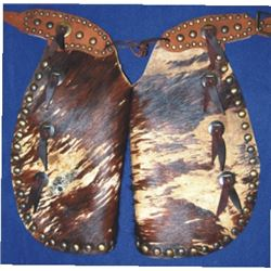 toddler size batwings, hair on cowhide