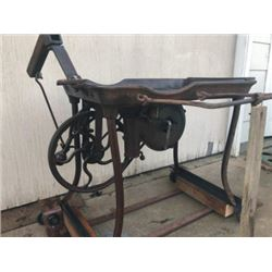 nice large blacksmith forge and blower