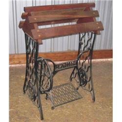 saddle stand mae on sewing machine legs