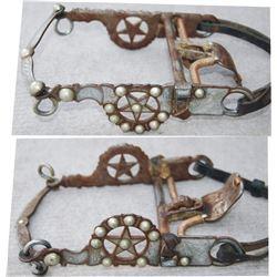 1960-70's Garcia aluminum inlaid Elko star spade