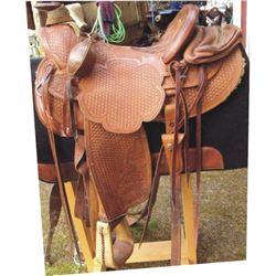 Mike Buckner U2 Saddlery Vale, OR saddle
