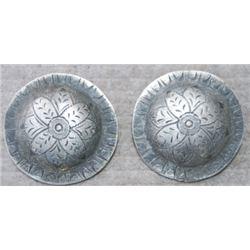 """2"""" silver conchos"""