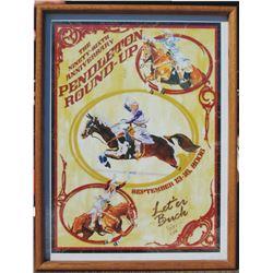 Pendleton Roundup 2006 edition poster