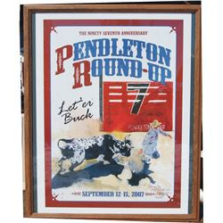 Pendleton Roundup 2007 edition poster