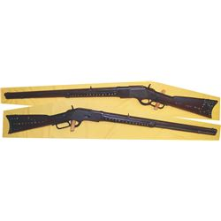 Buffalo Bill Wild West Winchester 1873 44.40 octagon barrel rifle