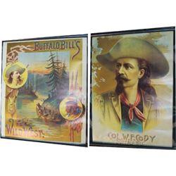 2 Buffalo Bill posters