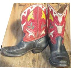 high quality kid's inlaid 40-50's boots