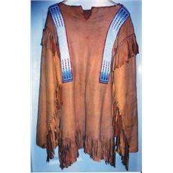 beaded deer skin shirt