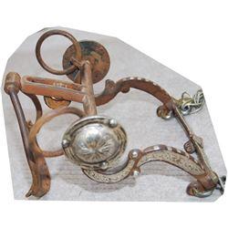 ring bit, silver mounted