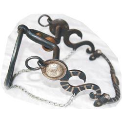 rare Jolon silver inlaid ring bit