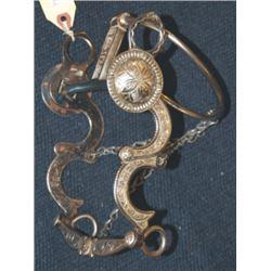 Edwardo Grijalva silver inlaid ring bit
