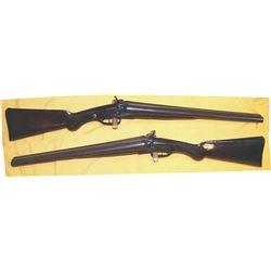 LC Smith 10ga push trigger 1880's shotgun