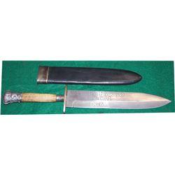 Wells Fargo San Francisco, CA 1876 spear point knife