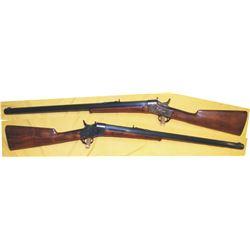 Remington sporting rifle, extra heavy barrel 45.70