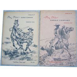 2 Ray Holes saddle catalogs
