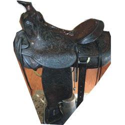 Olsen-Nolte full tooled saddle