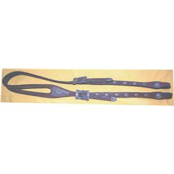 silver mounted horse head headstall