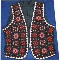 Blackfoot full beaded vest