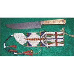 marked Hudson Bay trade knife
