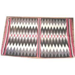 """Navajo blanket, 62"""" x 37"""""""