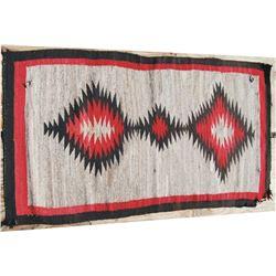 "Navajo rug 63"" x 34"""